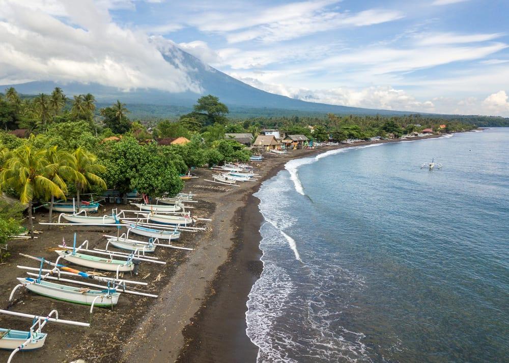 Amed Beach, Bali Indonezja