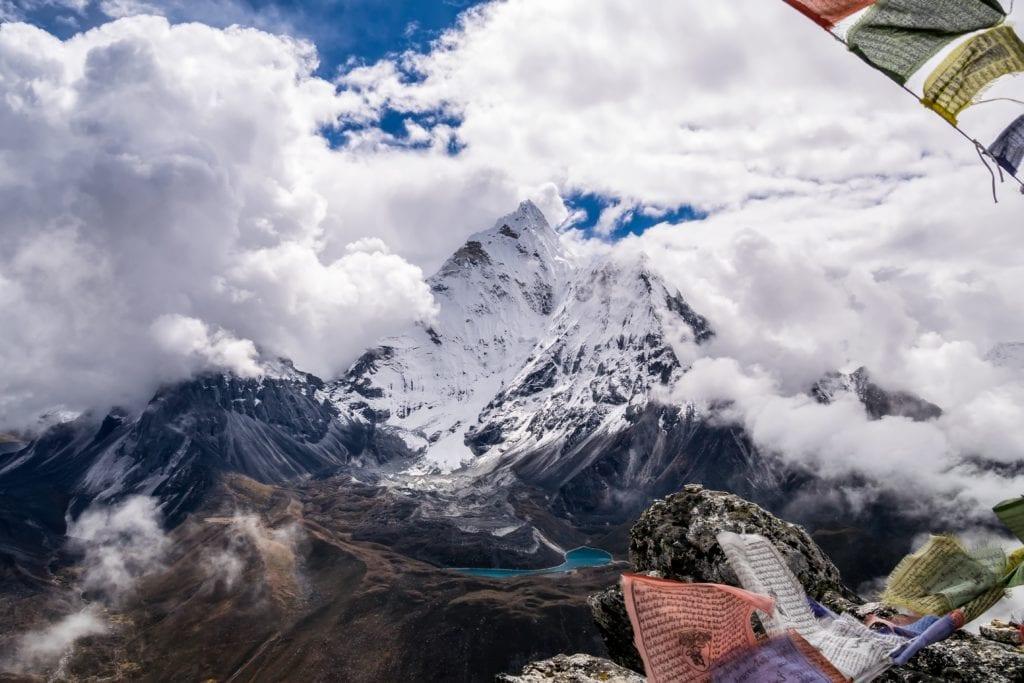 Chukkung Ri peak, Nepal,