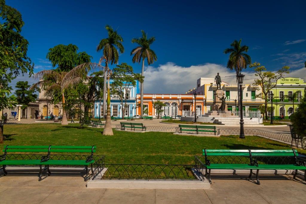 Główny plac w Matanzas, Kuba