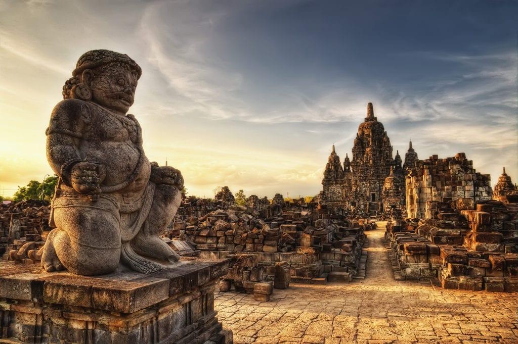 Hinduistyczny kompleks Prambanan, Jawa Indonezja