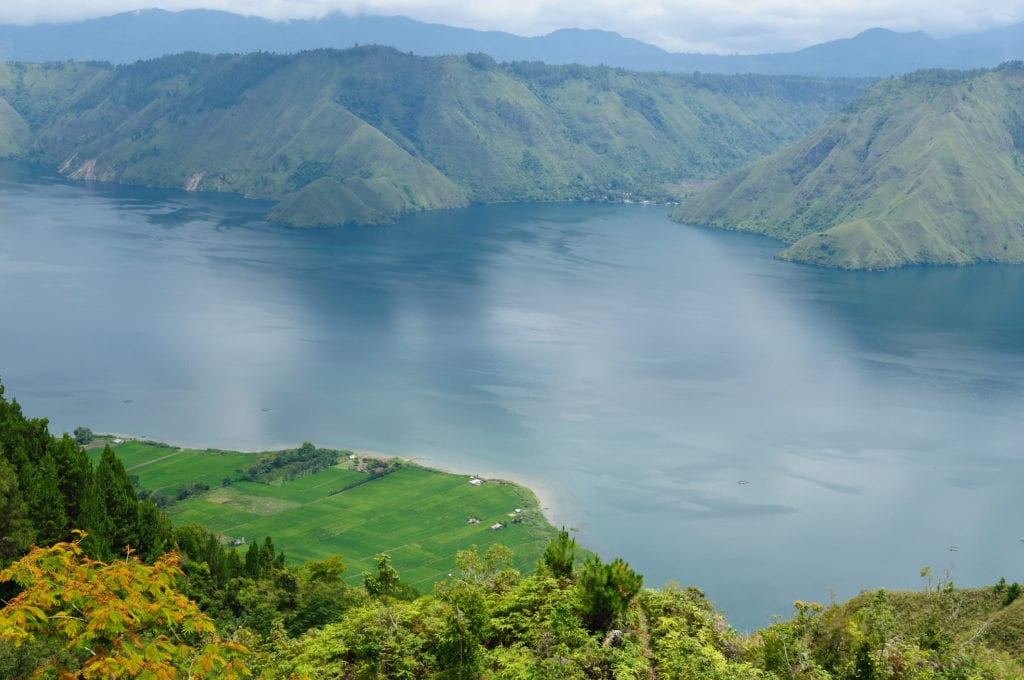 Jezioro Toba na Sumatrze, Indonezja