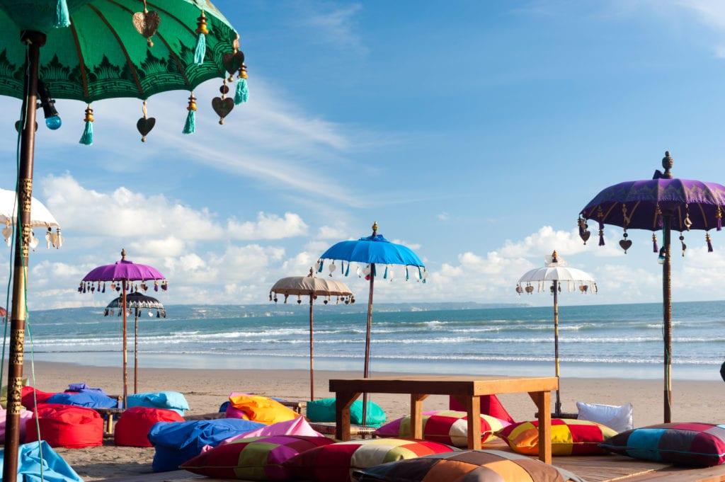 Kuta Beach, Bali Indonezja