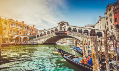 Most Rialto w Wenecji.