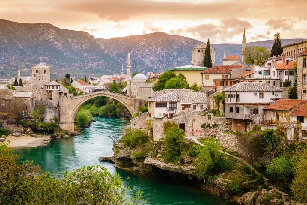 Stary Most w Mostarze, UNESCO Bośnia i Hercegowina