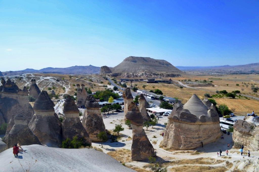 Paşabağı - formacje skalne, Kapadocja