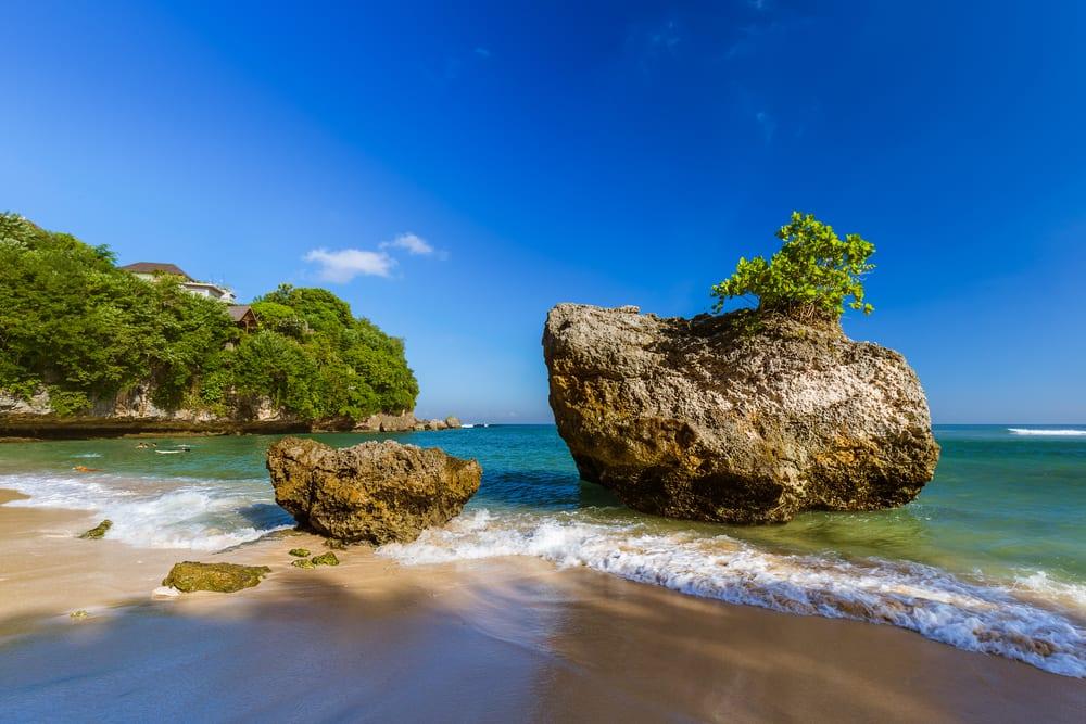 Padang Padang Beach, Bali Indonezja