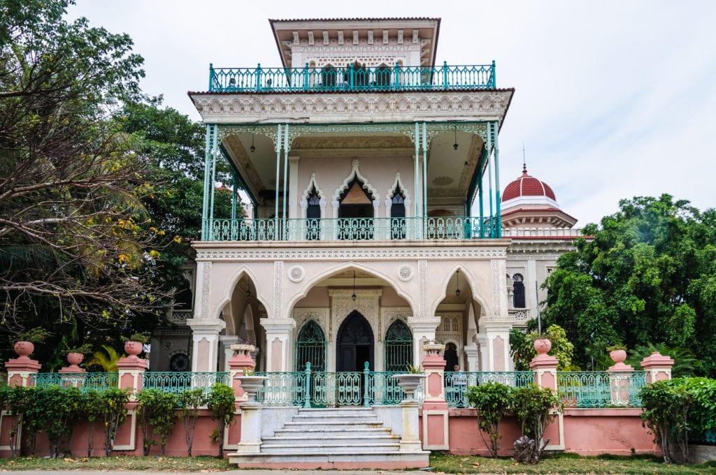 Palacio del Valle w Cienfuegos, Kuba