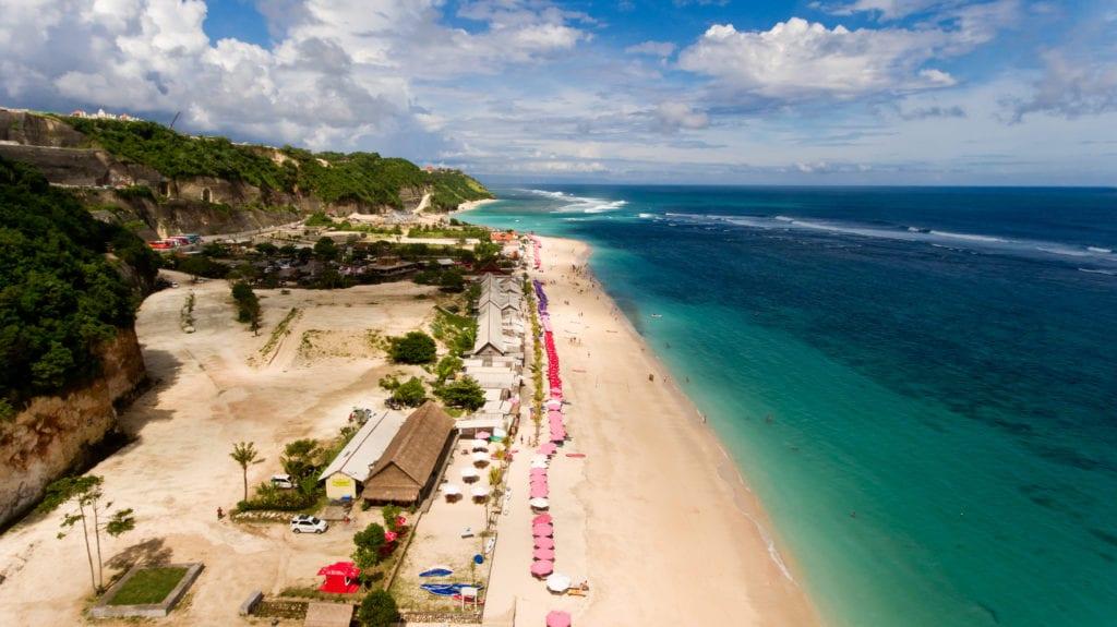 Pandawa Beach, Bali Indonezja