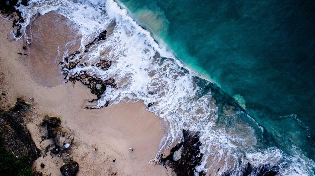 Plaża na Bali, Indonezja