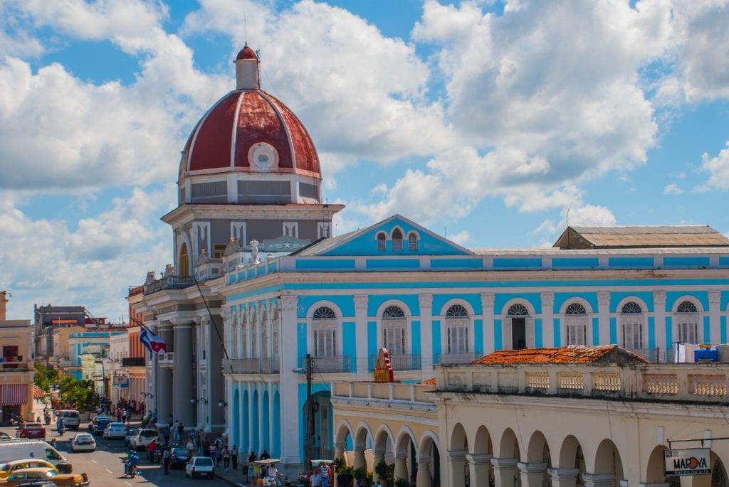 Ratusz w Cienfuegos, Kuba