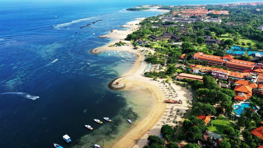 Tanjung Benoa Beach, Bali Indonezja