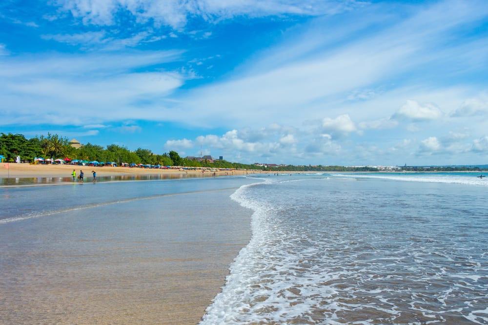 Tuban Beach, Bali Indonezja