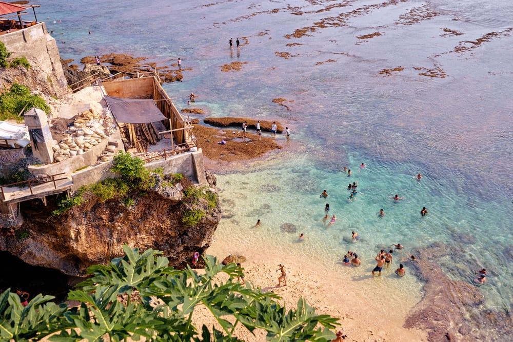 Uluwatu Beach, Bali Indonezja