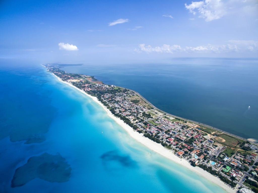 Varadero słynie z piaszczystych plaży, Kuba