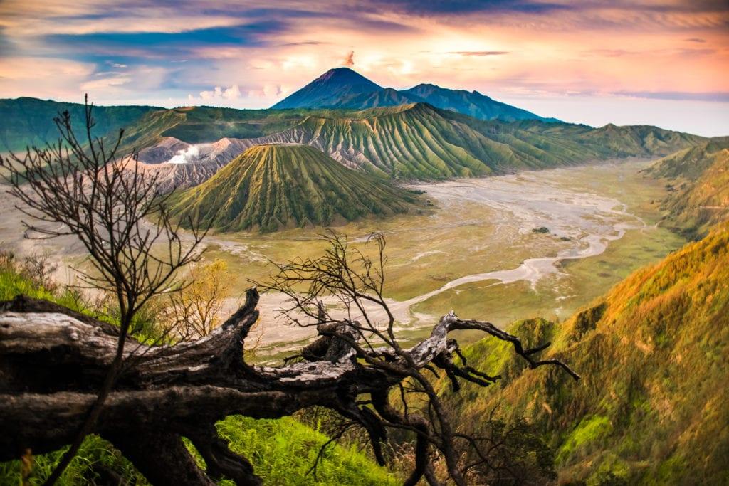 Wulkan Boromo, Jawa Indonezja