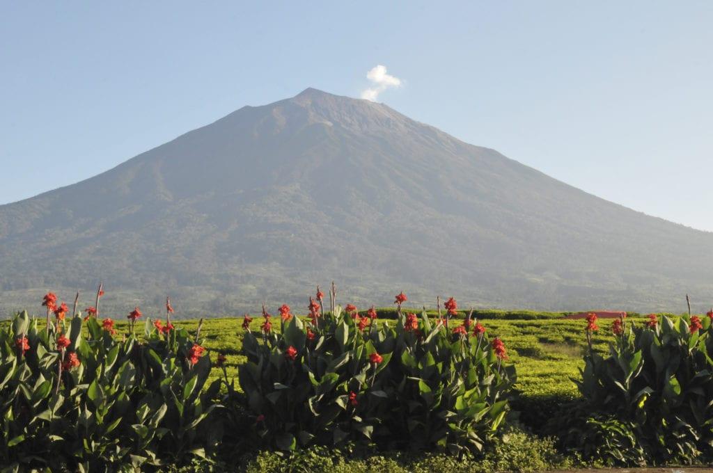Wulkan Kerinci, Indonezja
