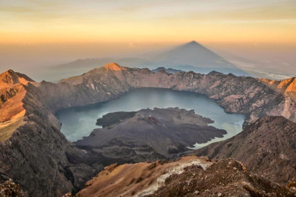 Wulkan Rinjani, Lombok Indonezja