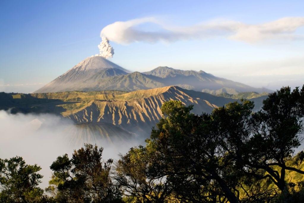 Wulkan Semeru, Jawa Indonezja