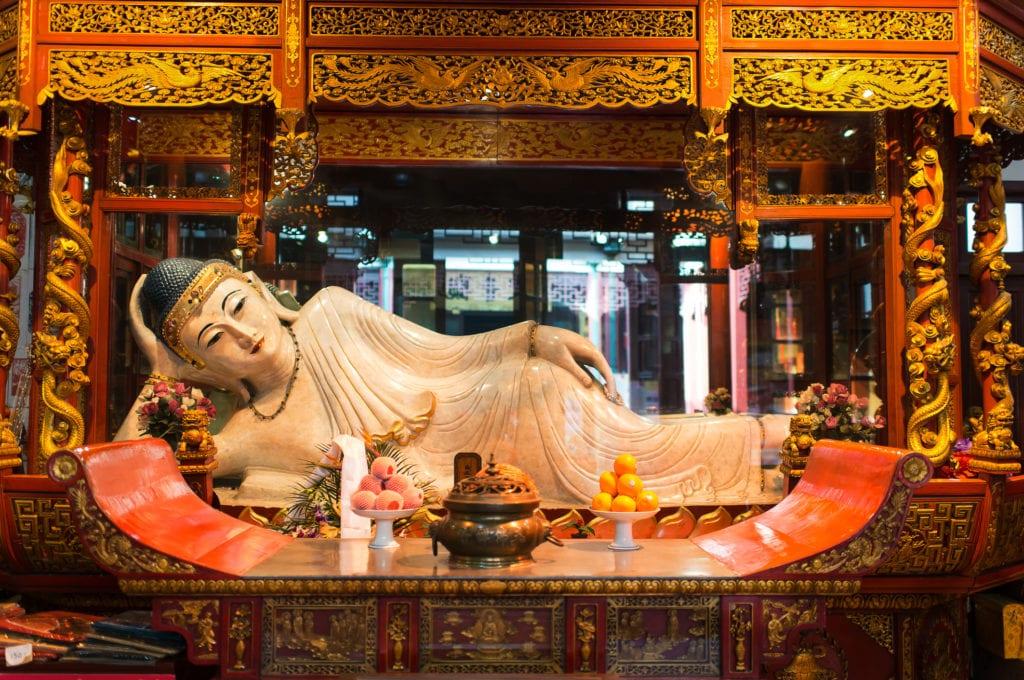 Świątynia Nefrytowego Buddy, Szanghaj