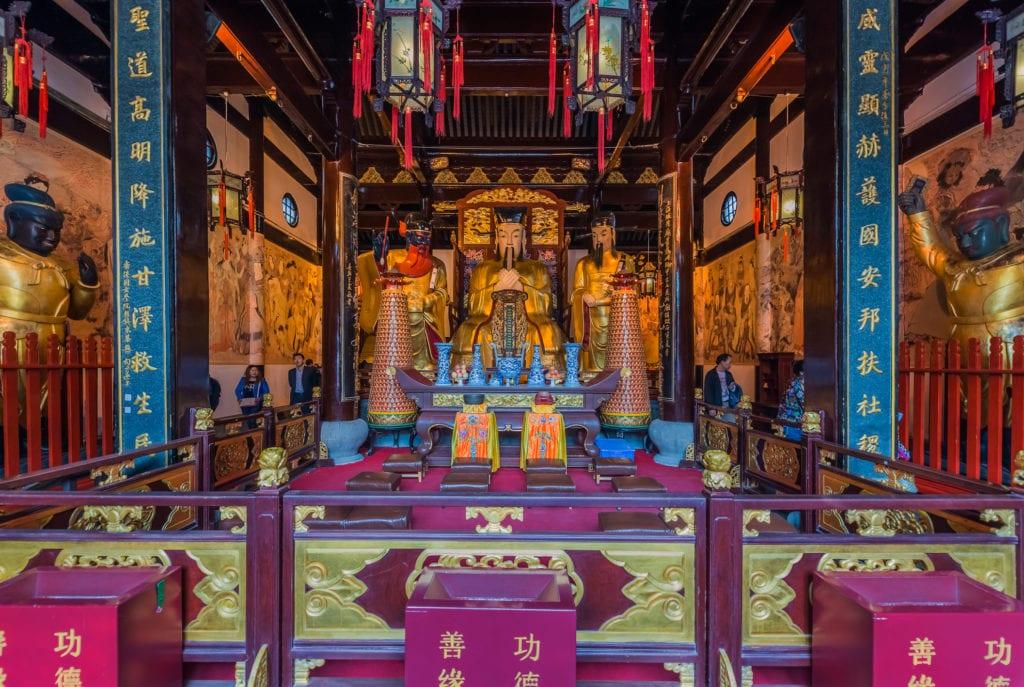 Świątynia boga miasta, Szanghaj