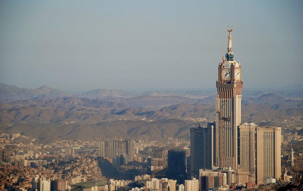 Abradż al-Bajt w Mekce, Arabia Saudyjska