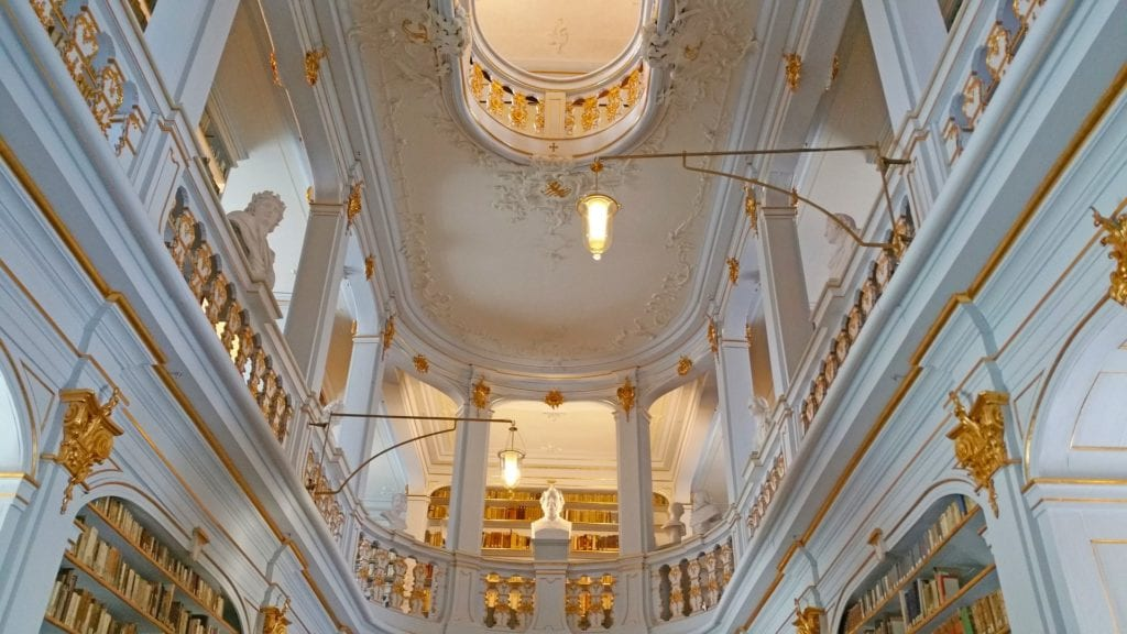 Biblioteka w Weimar, Niemcy