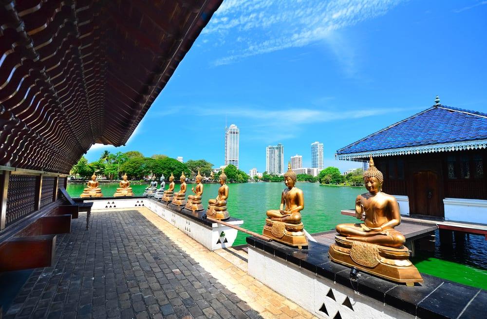 Buddyjska świątynia Seema Malaka w Kolombo Sri Lanka