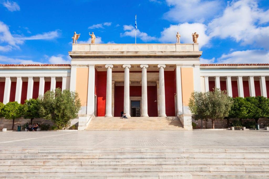 Budynek Narodowego Muzeum Archeologicznego, Ateny