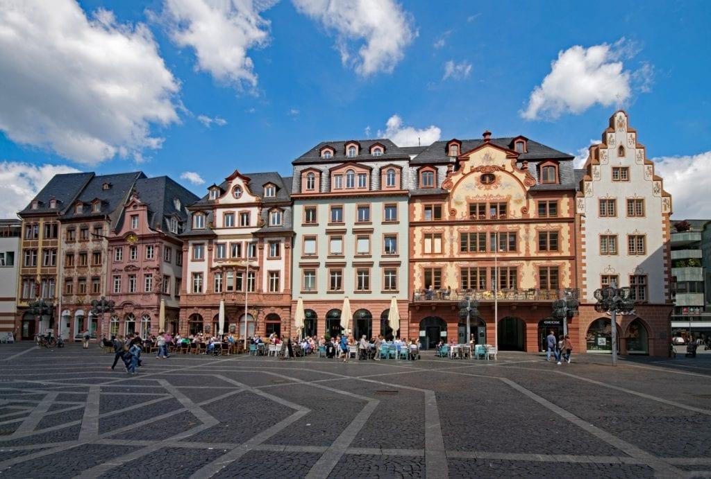 Centrum Moguncji, Niemcy