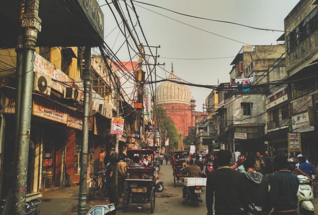 Chandni Chowk, czyli Plac Księżycowy, Delhi Indie