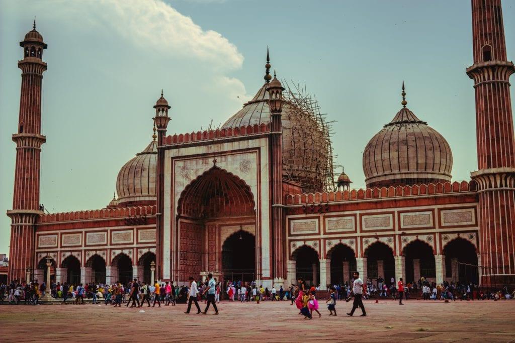 Dżami Masdżid - Wielki Meczet w Delhi, Indie