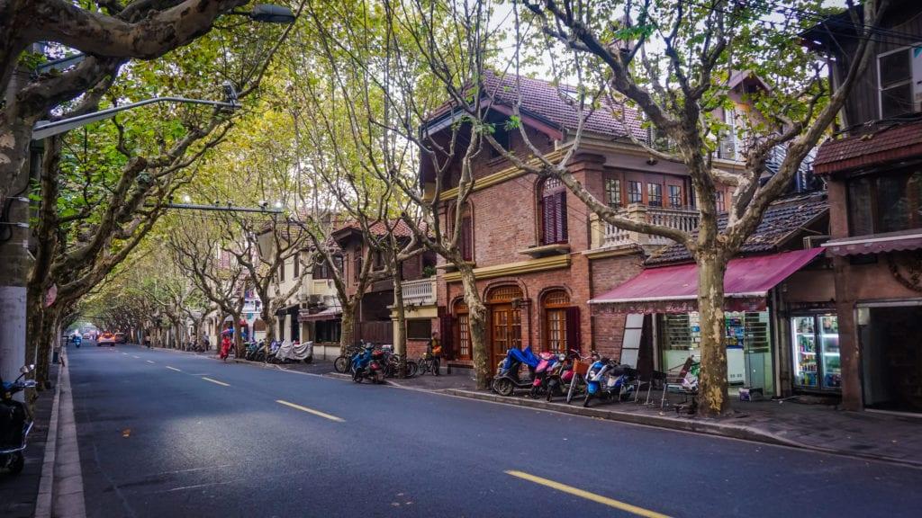 Dzielnica francuska w Szanghaju,