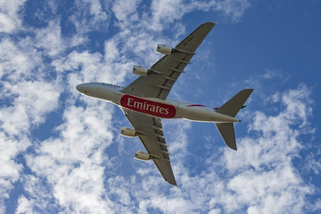 Emirates, fot. k z Unsplash
