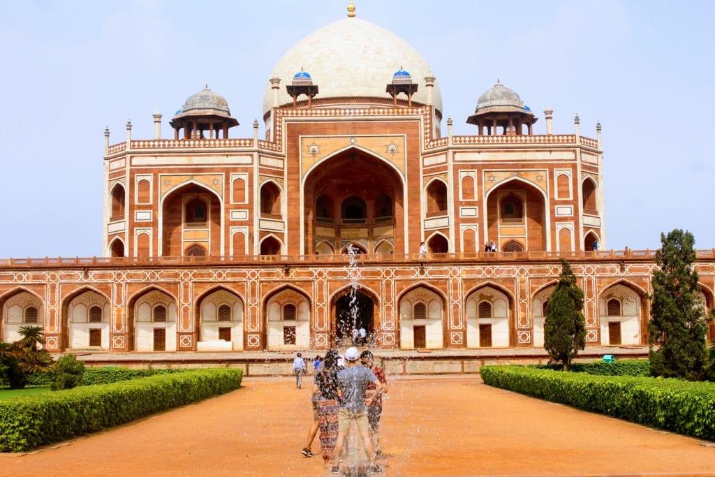 Grobowiec Humayuna w Delhi to pierwowzór Tadż Mahal