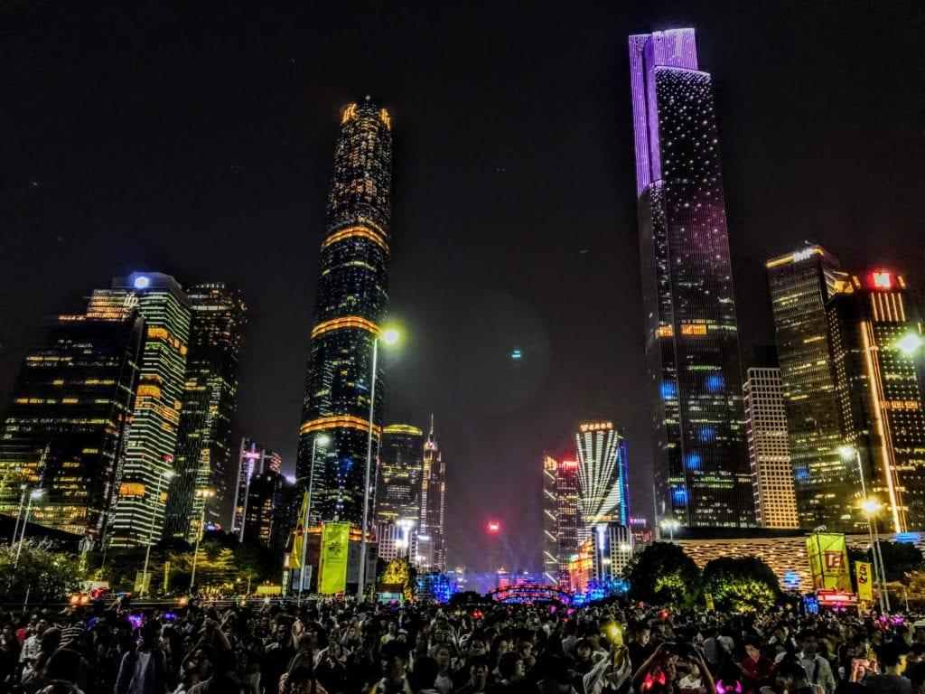 Guangzhou CTF Finance Centre w Kantonie, Chiny