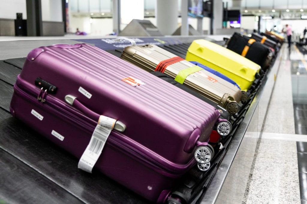 Punkt odbioru bagażu na lotnisku