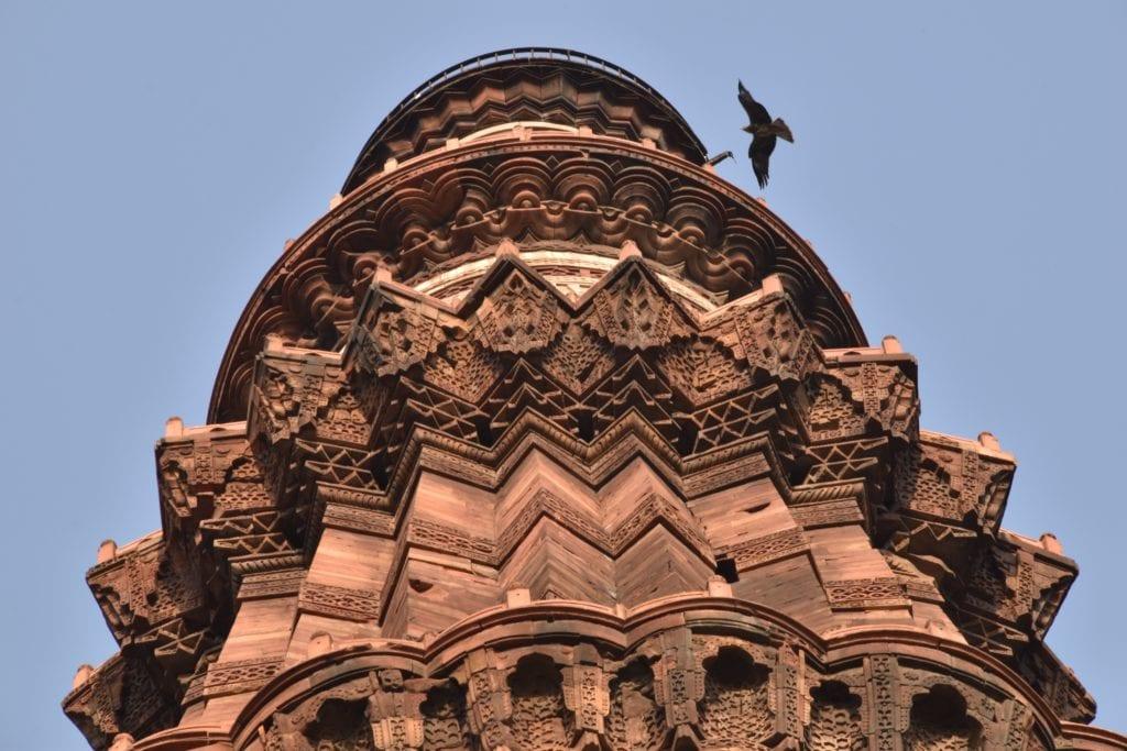 Kutb Minar (Qutub Minar), Delhi Indie