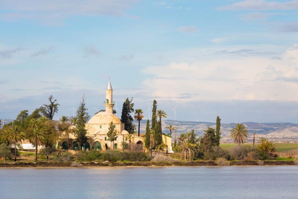 Meczet Hala Sultan Tekke w Larnace, Cypr
