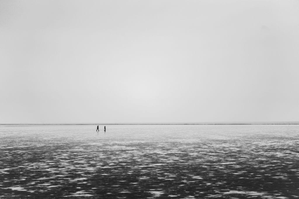 Morze Wattowe zimą, Niemcy