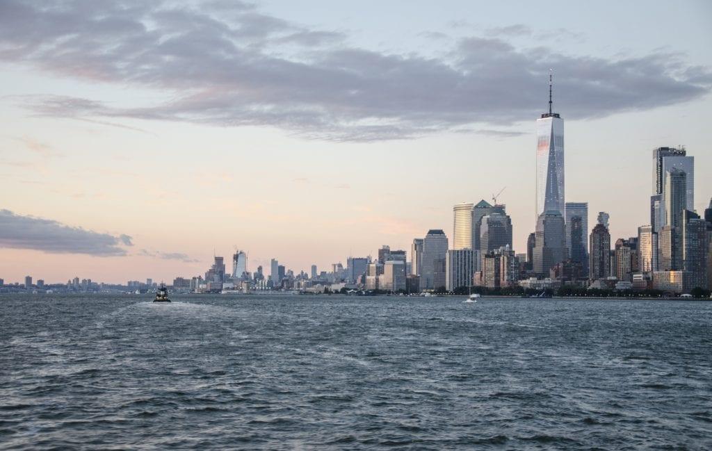 One World Trade Center w Nowym Jorku USA