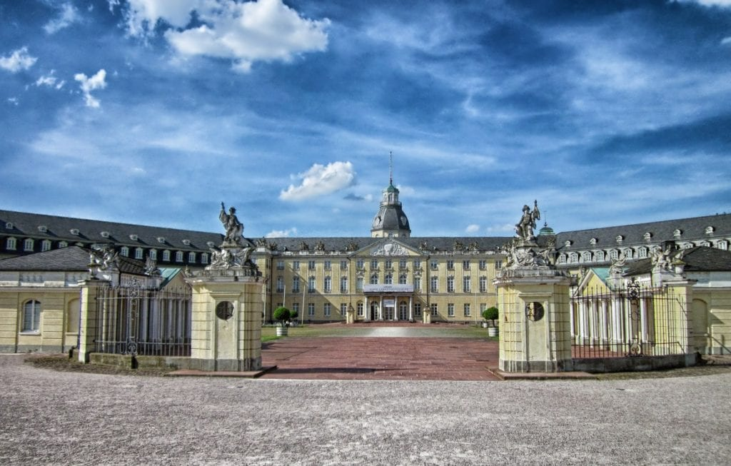 Pałac Karlsruhe, Niemcy
