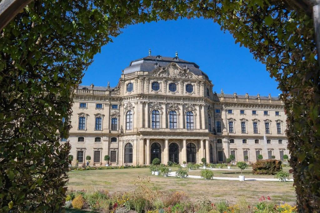Pałac w Wurzburg, Niemcy