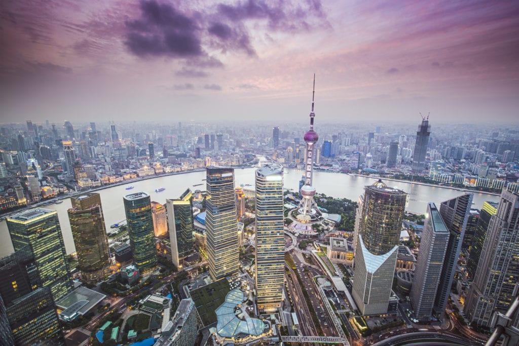 Panormama Szanghaju, Chiny