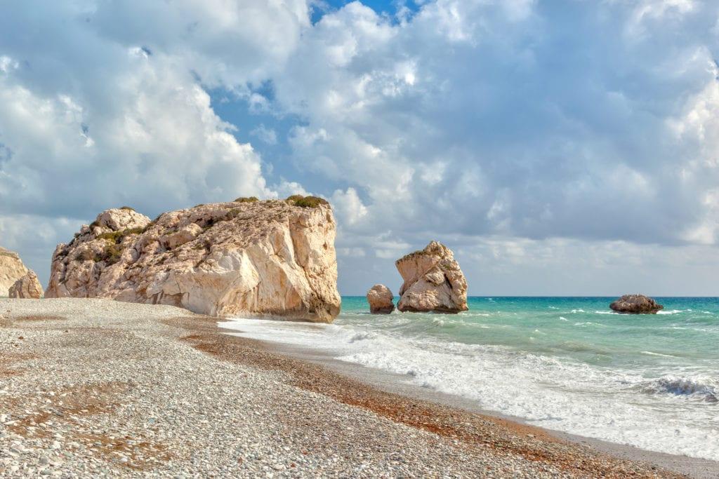 Petra Tou Romiou, Skała Afrodyty, Cypr
