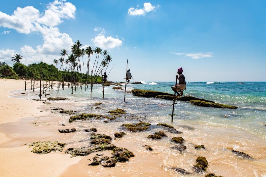 Plaża Mirissa, fSri Lanka