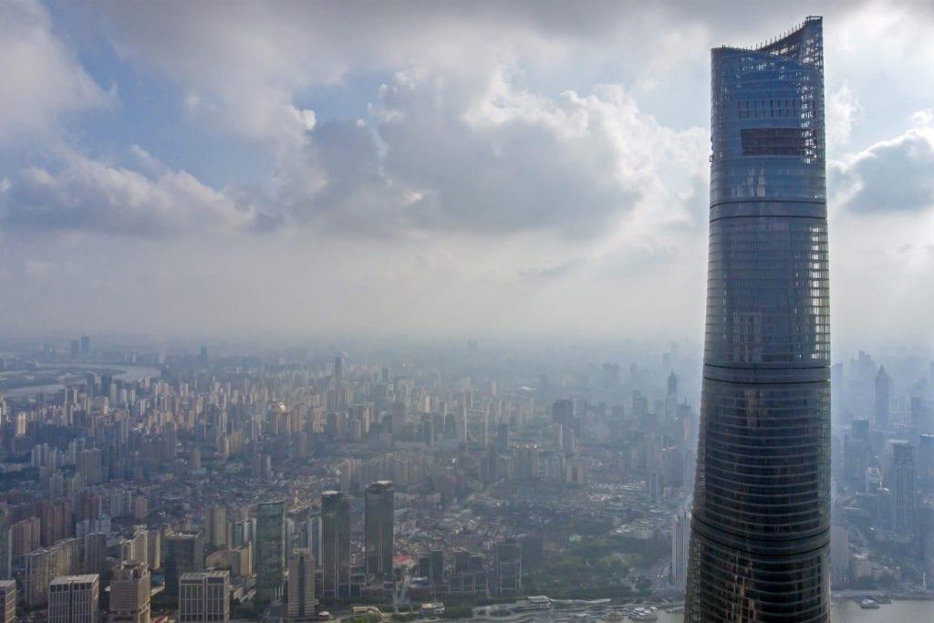 Shanghai Tower, wieżowiec Szanghaj