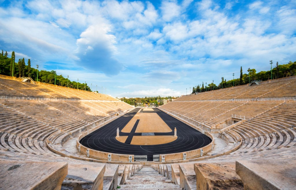 Stadion Panatenejski, Ateny