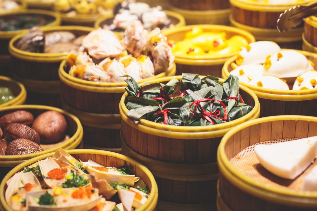 Street food w szanghaju,