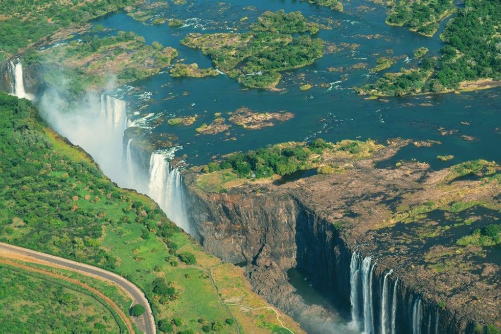 Wodospady Wiktorii, Zambia i Zimbabwe