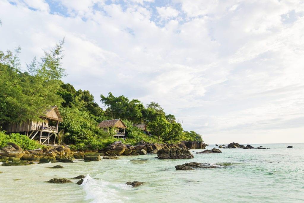 Wyspa Koh Rong, Kambodża